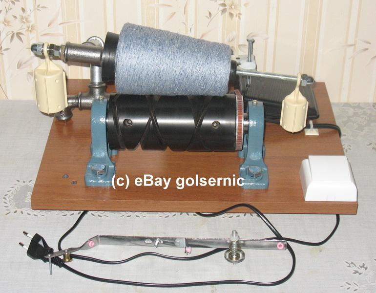 wool winder machine